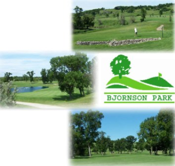Bjornson Park Public Golf Course,Valley City, South Dakota,  - Golf Course Photo