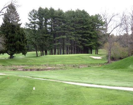 Riverside Municipal Golf Club, North Course 18,Portland, Maine,  - Golf Course Photo