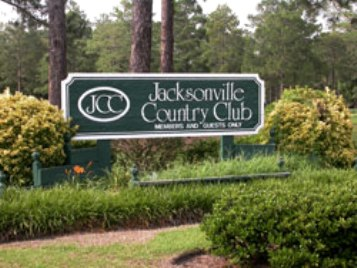 Golf Course Photo, Jacksonville Country Club, Jacksonville, 28546