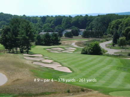 Golf Course Photo, LochenHeath Golf Club, Williamsburg, 49690