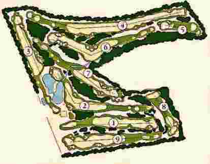 Pinecrest Golf Club,Pinehurst, Rhode Island,  - Golf Course Photo