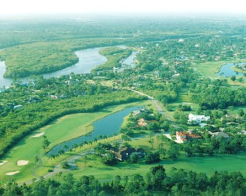Golf Course Photo, Pipers Landing Country Club, Palm City, 34990