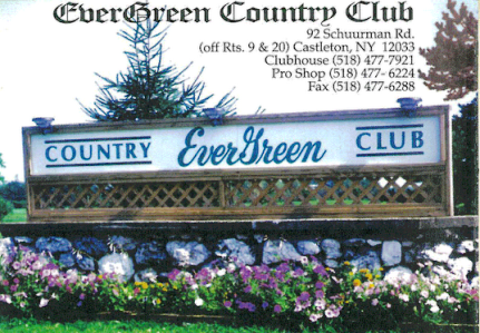 Evergreen Country Club, The Public Course,Castleton On Hudson, New York,  - Golf Course Photo