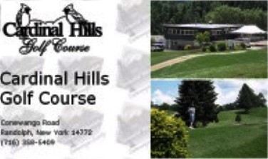Cardinal Hills Golf Course,Randolph, New York,  - Golf Course Photo