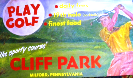 Cliff Park Golf Course,Milford, Pennsylvania,  - Golf Course Photo