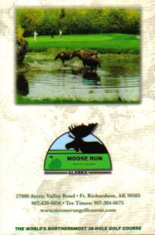Moose Run Golf Course - Hill Course,Fort Richardson, Alaska,  - Golf Course Photo