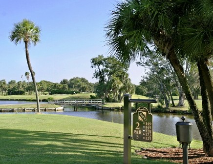 Pasadena Yacht & Country Club, Pasadena Golf Course ,Gulfport, Florida,  - Golf Course Photo