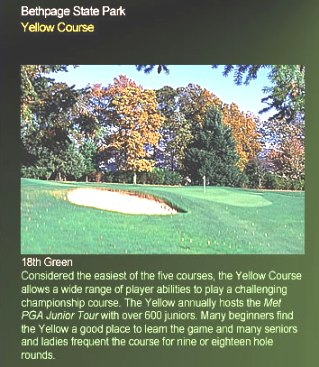 Bethpage State Park, The Yellow, Farmingdale, New York, 11735 - Golf Course Photo