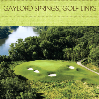 Golf Course Photo, Gaylord Springs Golf Links, Nashville, 37214