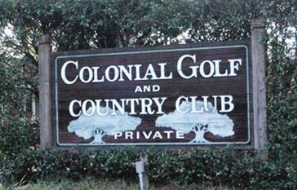 Golf Course Photo, Colonial Golf & Country Club, CLOSED 2012, Harahan, 70123