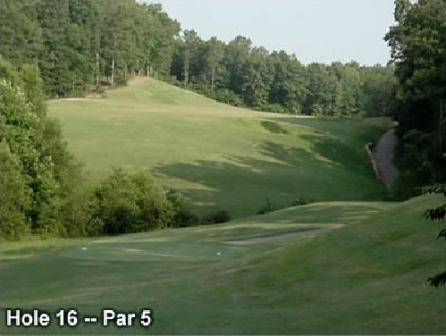 Shiloh Falls Golf Club,Pickwick Dam, Tennessee,  - Golf Course Photo