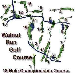 Walnut Run Golf Course,Cortland, Ohio,  - Golf Course Photo
