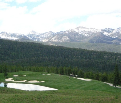 Spanish Peaks Golf Course, CLOSED 2011,Big Sky, Montana,  - Golf Course Photo