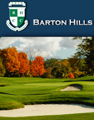 Golf Course Photo, Barton Hills Country Club, Ann Arbor, 48105