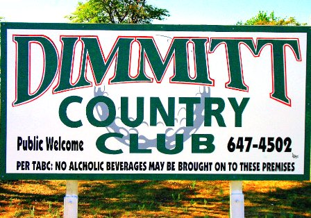 Dimmitt Country Club,Dimmitt, Texas,  - Golf Course Photo