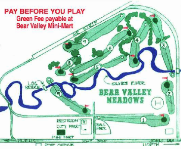 Bear Valley Meadows Golf Club,Seneca, Oregon,  - Golf Course Photo