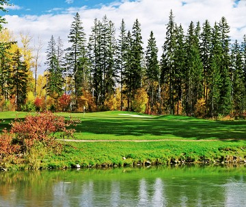 Buffalo Hill Golf Club, Championship Golf Course,Kalispell, Montana,  - Golf Course Photo