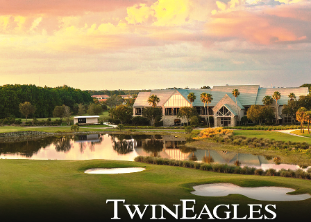 Twin Eagles Golf & Country Club, The Eagle Course,Naples, Florida,  - Golf Course Photo
