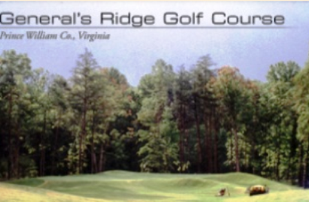 Golf Course Photo, Generals Ridge Golf Course, CLOSED 2019, Manassas Park, 20111