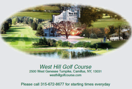 Golf Course Photo, West Hill Golf Course, Camillus, 13031