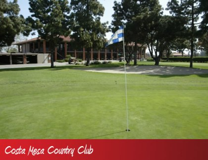 Golf Course Photo, Costa Mesa Golf & Country Club, Mesa Linda, Costa Mesa, 92626