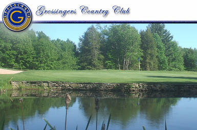 Grossinger Resort -Lake-Vista,Liberty, New York,  - Golf Course Photo