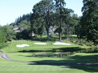 Golf Course Photo, Eugene Country Club, Eugene, 97401
