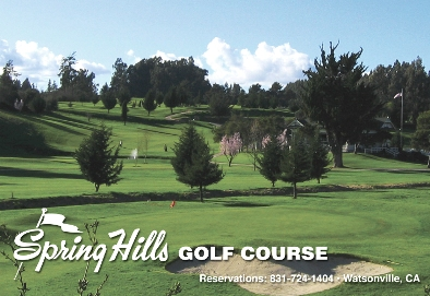 Spring Hills Golf Course,Watsonville, California,  - Golf Course Photo
