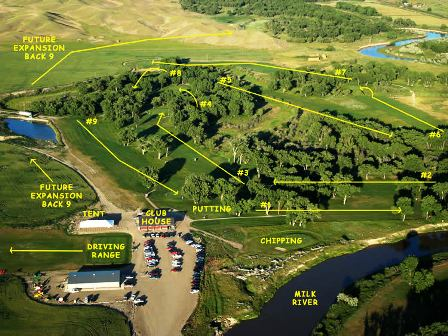Prairie Farms Golf Course, Havre, Montana, 59501 - Golf Course Photo