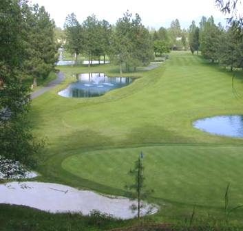 Golf Course Photo, Twin Lakes Village Golf Course, Rathdrum, 83858