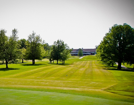 The Oaks Golf and Tennis Club,Evansville, Indiana,  - Golf Course Photo