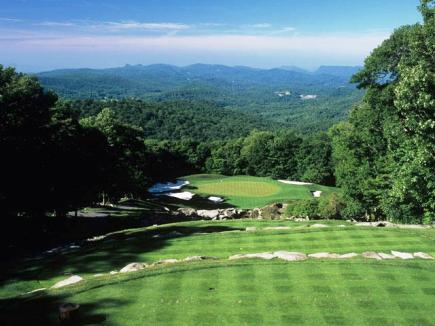 Golf Course Photo, Linville Ridge Country Club, Linville, 28646