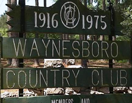Waynesboro Country Club,Waynesboro, Georgia,  - Golf Course Photo