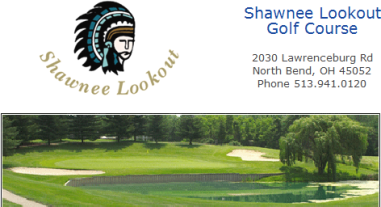 Shawnee Lookout Golf Course, CLOSED 2019,North Bend, Ohio,  - Golf Course Photo