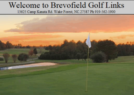 Brevofield Golf Course,Wake Forest, North Carolina,  - Golf Course Photo