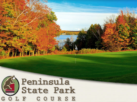 Peninsula State Park Golf Course,Fish Creek, Wisconsin,  - Golf Course Photo