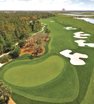 Champions Gate Golf Resort, National Course,Orlando, Florida,  - Golf Course Photo