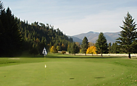 Golf Course Photo, Mirror Lake Golf Course, Bonners Ferry, 83805