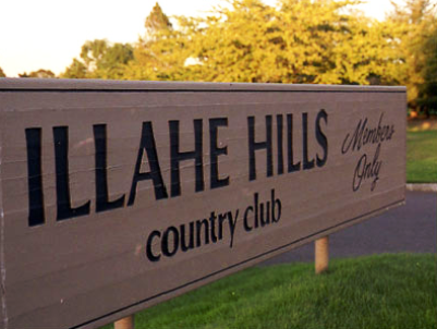Illahe Hills Country Club,Salem, Oregon,  - Golf Course Photo