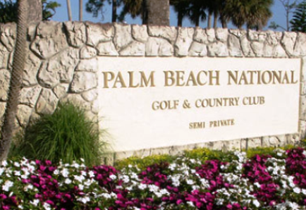 Golf Course Photo, Palm Beach National Golf Course, Lake Worth, 33467