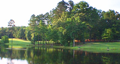 Carolina Trace Country Club, Creek,Sanford, North Carolina,  - Golf Course Photo