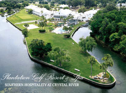 Golf Course Photo, Plantation Inn & Golf Resort, Lagoons Course, Crystal River, 34429