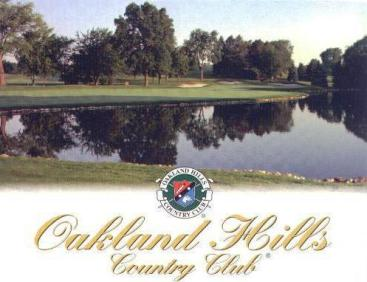 Oakland Hills Country Club -South, Bloomfield Hills, Michigan, 48301 - Golf Course Photo