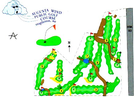 Augusta Wind Golf Course ,Stapleton, Nebraska,  - Golf Course Photo