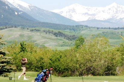 Red Lodge Mountain Golf Course,Red Lodge, Montana,  - Golf Course Photo