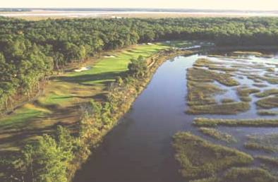 Cotton Dike Course at Dataw Island Golf Course,Saint Helena Island, South Carolina,  - Golf Course Photo