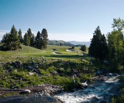 Rock Creek Cattle Company Golf Course,Deer Lodge, Montana,  - Golf Course Photo