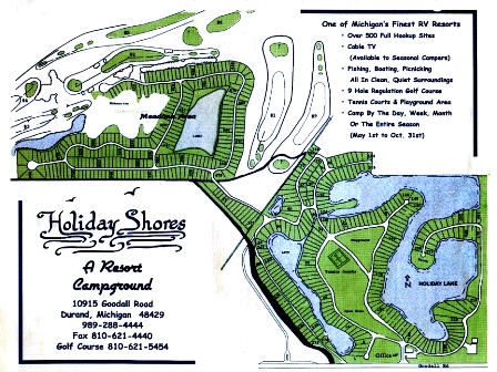 Holiday Meadows Golf Course, Durand, Michigan, 48429 - Golf Course Photo