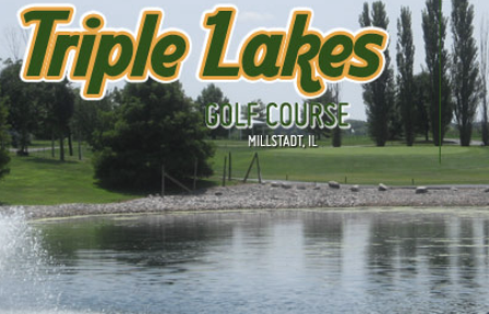 Golf Course Photo, Triple Lakes Golf Club, Millstadt, 62260