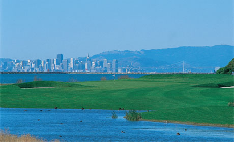 Golf Course Photo, Monarch Bay Golf Club, Marina Golf Course, San Leandro, 94577